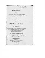 Colony of Sierra Leone